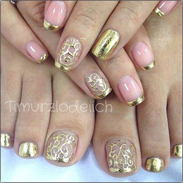 фото ногти с литьем