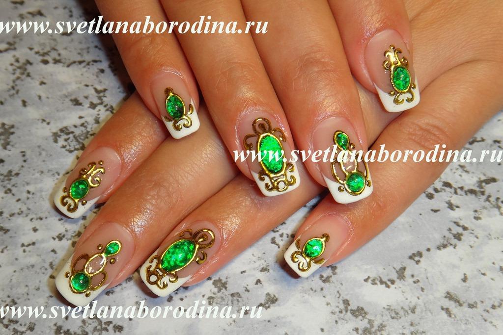 камни литье и жидкие фото на ногтях